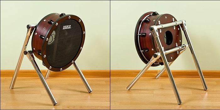 Пэд бас-барабана своими руками
