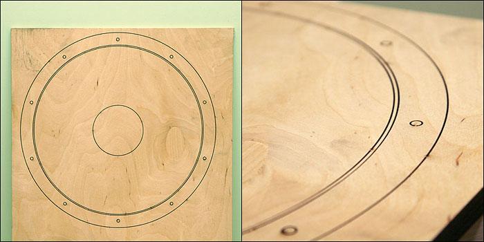 Изготовление деревянного обруча для барабана