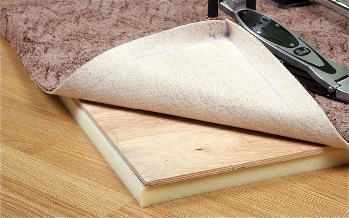 Подиум для устранения шума и вибраций