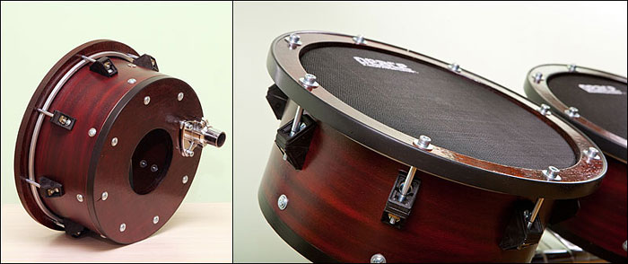 Самодельный электронный барабан
